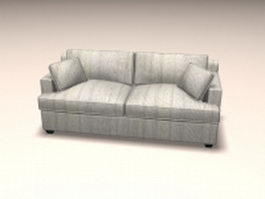 Loveseat sofa furniture 3d model