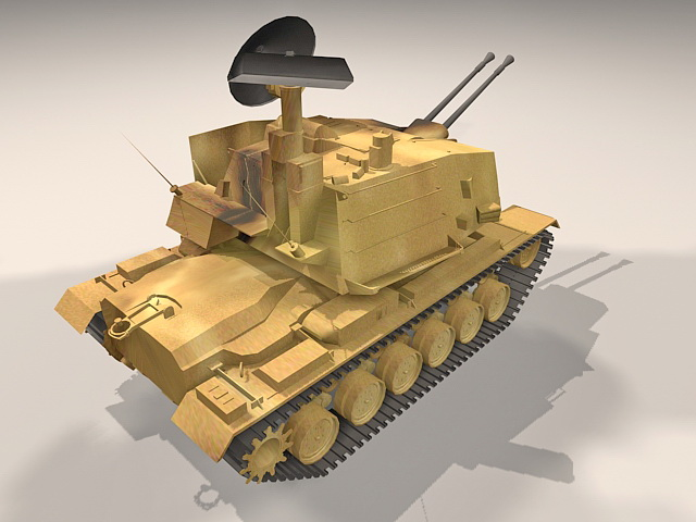 German 50 Mm Anti Tank Gun: Sergeant York Anti-aircraft Gun 3d Model 3ds Max Files