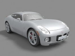 Pontiac Solstice sports car 3d model