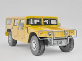 2006 Hummer H1 Alpha 3d model