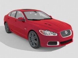 2010 Jaguar XFR 3d model
