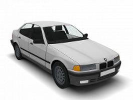 BMW 325 saloon 3d preview