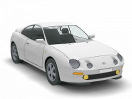 Toyota Celica car 3d model