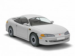 Mitsubishi Eclipse sport car 3d model