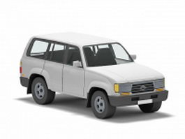Toyota Land Cruiser 3d model