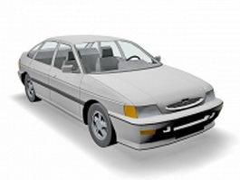 Ford Escort 3d model