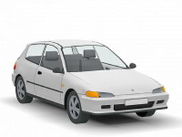 2005 Honda Civic 3d model