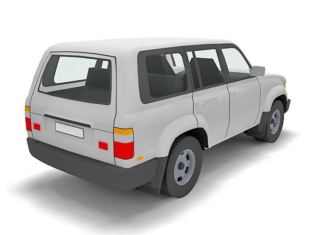 Toyota Land Cruiser 3d model - CadNav