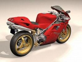 Ducati 916 sport bike 3d model