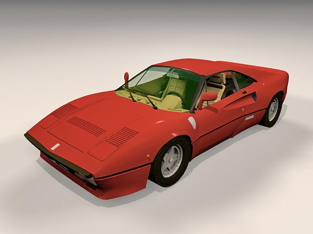 Ferrari 288 Gto 3d Model 3ds Max Files Free Download
