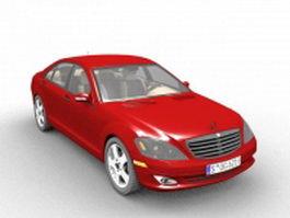 Mercedes-Benz S-Class car 3d model