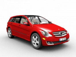 Mercedes R Class car 3d model