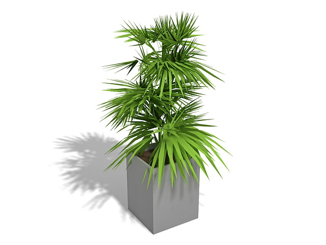 Potted plants 3d model free download - cadnav com