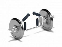 Triceps bar 3d model