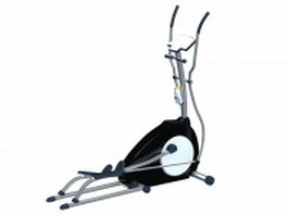 Stationary elliptical trainer 3d model