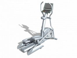 Exercise stepper machine 3d model