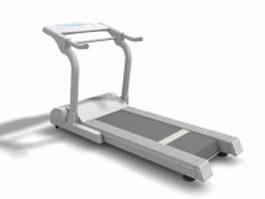 Treadmill machine 3d model