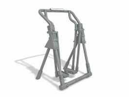 Outdoor sky stepper equipment 3d model