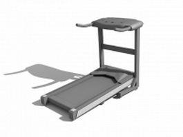 Treadmill running machine 3d model
