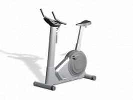 Stationary exercise bike 3d model