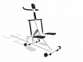Fitness equipment stepper 3d model