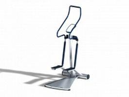 Stair stepper exercise machine 3d model