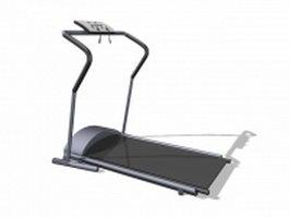 Walking treadmill equipment 3d model