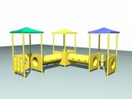 Outdoor play equipment toy 3d model