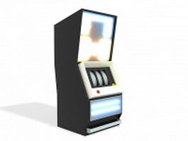 Arcade slot machine 3d model