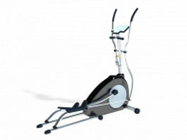 Elliptical stepper 3d model