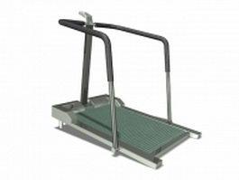 Treadmills fitness machine 3d model