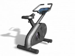 Gymnasticon stationary bicycle 3d model