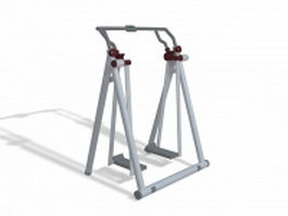 Glider walker exercise equipment 3d model