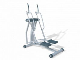 Aerobic stepper exercise machine 3d model