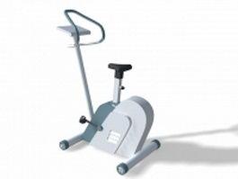 Magnetic fitness bike 3d model