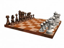 Chess sets 3d preview
