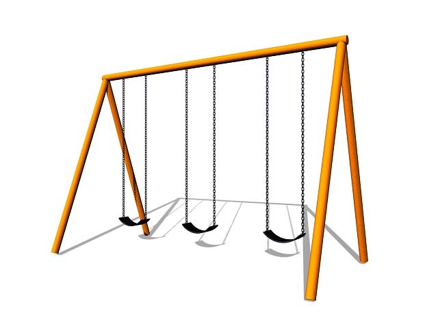 Swing 3d model free download - cadnav com
