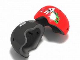 Skate helmets 3d model