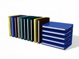 Ring file folders 3d model