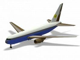 Boeing 767 airliner 3d model