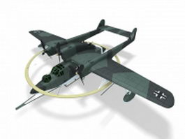 Blohm and Voss BV 138 3d model