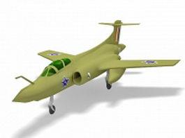 Blackburn Buccaneer aircraft 3d model