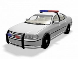 Police car 3d preview
