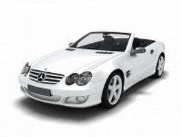 Mercedes SLS AMG Convertible 3d model