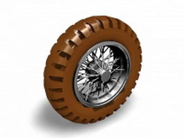 Alloy wheel 3d model