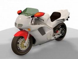Honda 750 NR 3d model