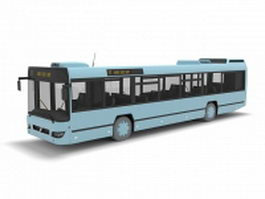 Electric bus 3d model