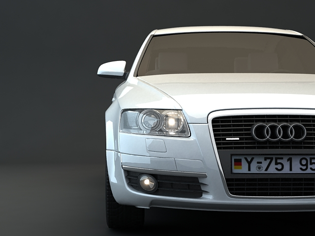 Audi V8 Quattro 3d Model 3ds Max Files Free Download Modeling