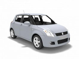 Suzuki Swift car 3d model