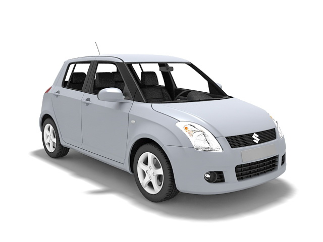 Suzuki Swift Car 3d Model 3ds Max Files Free Download Modeling